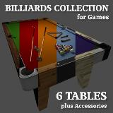 3D Model - Billiard Collection