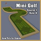 3D Model - Mini Golf Course 1 Hole 4