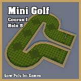 3D Model - Mini Golf Course 1 Hole 5