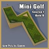 3D Model - Mini Golf Course 1 Hole 9