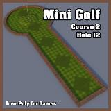 3D Model - Mini Golf Course 2 Hole 12