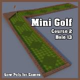 3D Model - Mini Golf Course 2 Hole 13