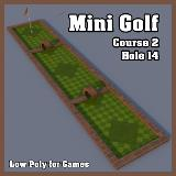 3D Model - Mini Golf Course 2 Hole 14