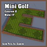 3D Model - Mini Golf Course 2 Hole 17