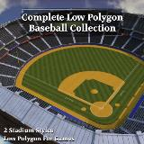 3D Model - Complete Baseball Collection