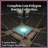 3D Model - Complete Boxing Collection
