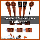3D Model - Football Accessories Collection