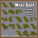 3D Model - Mini Golf Course 3 Collection