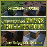 3D Model - Rectangular Maze Collection