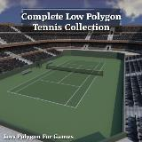 3D Model - Complete Tennis Collection